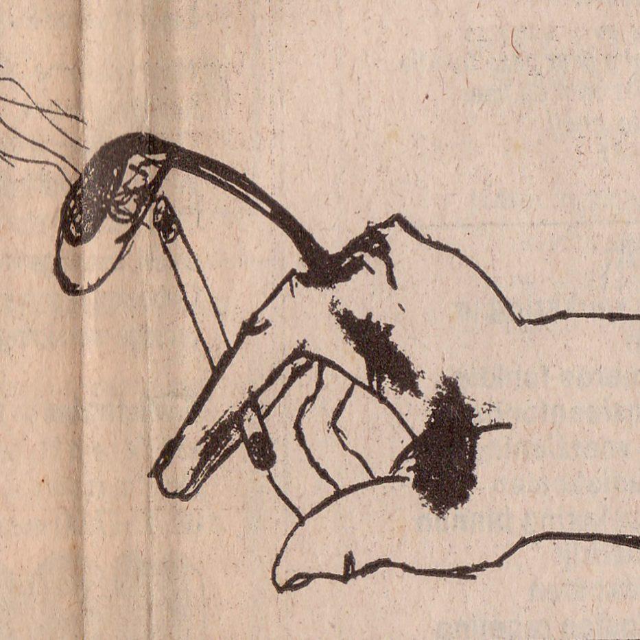 Krant handfilter voor sigaretbb